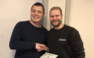 Årets lærling 2018 - Niels Pedersen