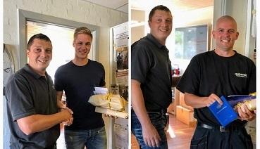 Svendegilde René Arnum og Kasper Pihl